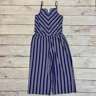 Primary Photo - BRAND: JUST BE STYLE: DRESS LONG SLEEVELESS COLOR: BLUE SIZE: XL OTHER INFO: WHITE STRIPED JUMPERSKU: 217-217167-1525
