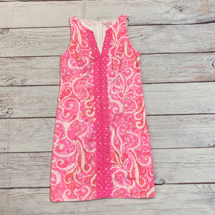 Primary Photo - BRAND: LILLY PULITZER STYLE: DRESS SHORT SLEEVELESS COLOR: HOT PINK SIZE: 4 SKU: 217-217182-9247