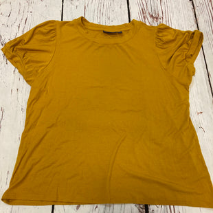 Primary Photo - BRAND: APT 9 STYLE: TOP SHORT SLEEVE COLOR: MUSTARD SIZE: 1X SKU: 217-217153-9045