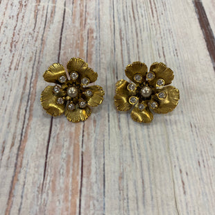 Primary Photo - BRAND: ELIZABETH COLESTYLE: EARRINGS COLOR: GOLD OTHER INFO: FLOWERS SKU: 217-217196-494