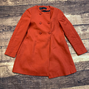 Primary Photo - BRAND: ZARA BASIC STYLE: COAT SHORT COLOR: ORANGE SIZE: M SKU: 217-217182-5513