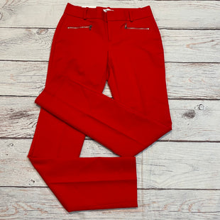 Primary Photo - BRAND: CALVIN KLEIN STYLE: PANTS COLOR: RED SIZE: 0 OTHER INFO: NEW! $89.50 SKU: 217-217182-7232