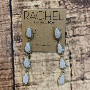 Primary Photo - BRAND: RACHEL ROY STYLE: EARRINGS COLOR: GOLD OTHER INFO: 4 STONES SKU: 217-217182-5622