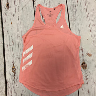 Primary Photo - BRAND: ADIDAS STYLE: ATHLETIC TANK TOP COLOR: PINK SIZE: M SKU: 217-217155-4913