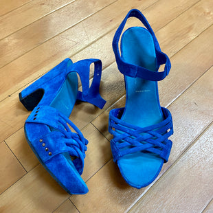 Primary Photo - BRAND: DONALD J PILNER STYLE: SANDALS HIGH COLOR: BLUE SIZE: 9 SKU: 217-217155-2622