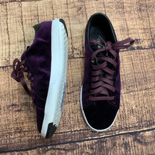 Primary Photo - BRAND: COLE-HAAN STYLE: SHOES ATHLETIC COLOR: PURPLE SIZE: 5.5 OTHER INFO: VELVET SKU: 217-217104-35758