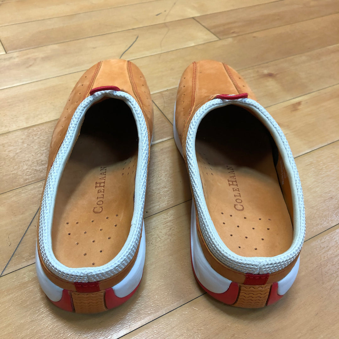 Photo #1 - BRAND: COLE-HAAN <BR>STYLE: SHOES FLATS <BR>COLOR: ORANGE <BR>SIZE: 7 <BR>SKU: 217-217104-33173