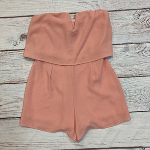 Primary Photo - BRAND: MYSTICSTYLE: ROMPER SHORT SLEEVELESS COLOR: PINK SIZE: S SKU: 217-217153-8028