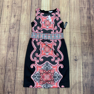 Primary Photo - BRAND: NEW YORK AND CO STYLE: DRESS SHORT SLEEVELESS COLOR: PRINT SIZE: L OTHER INFO: NEW! PINK BLACK SKU: 217-217104-30545