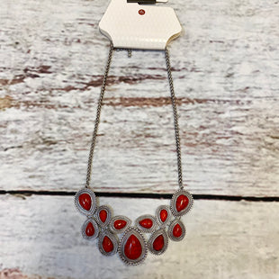 Primary Photo - BRAND: DRESS BARN STYLE: NECKLACE COLOR: RED OTHER INFO: RED/SILVER SKU: 217-217196-94