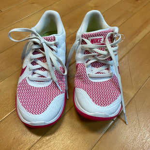 Primary Photo - BRAND: NIKE STYLE: SHOES ATHLETIC COLOR: WHITE PINK SIZE: 6 SKU: 217-217104-33967