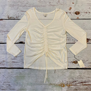 Primary Photo - BRAND: A NEW DAY STYLE: TOP LONG SLEEVE COLOR: WHITE SIZE: XS OTHER INFO: NEW! SKU: 217-217155-4334