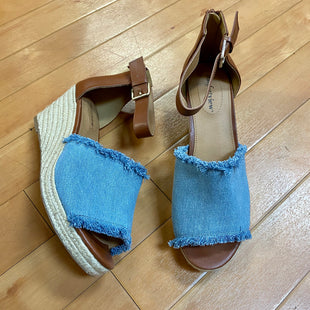 Primary Photo - BRAND: COMFORTVIEW STYLE: SANDALS HIGH COLOR: DENIM SIZE: 9.5 SKU: 217-217155-2694