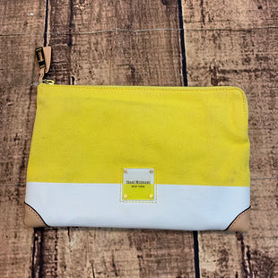 Primary Photo - BRAND: ISAAC MIZRAHI STYLE: CLUTCH COLOR: YELLOW SKU: 217-217155-3915