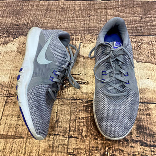 Primary Photo - BRAND: NIKE STYLE: SHOES ATHLETIC COLOR: GREY SIZE: 7 OTHER INFO: PURPLE SKU: 217-217182-553