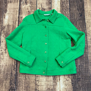 Primary Photo - BRAND: ISAAC MIZRAHI LIVE QVC STYLE: JACKET OUTDOOR COLOR: GREEN SIZE: M SKU: 217-217154-931