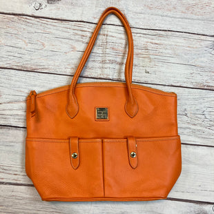Primary Photo - BRAND: DOONEY AND BOURKE STYLE: HANDBAG LEATHER COLOR: ORANGE SIZE: LARGE SKU: 257-257180-1208