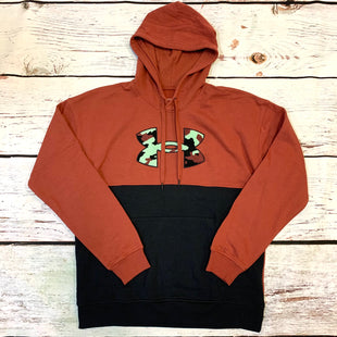 Primary Photo - BRAND: UNDER ARMOUR STYLE: SWEATSHIRT HOODIE COLOR: BURGUNDY SIZE: L OTHER INFO: NEW! BLACK AND BLUE SKU: 217-217193-754