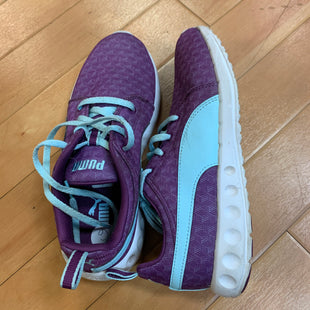 Primary Photo - BRAND: PUMA STYLE: SHOES ATHLETIC COLOR: PURPLE SIZE: 6 OTHER INFO: MINT AS IS SKU: 217-217111-3525