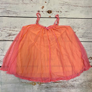 Primary Photo - BRAND: BETSEY JOHNSON STYLE: TOP SLEEVELESS COLOR: ORANGEPINK SIZE: M SKU: 257-25748-7437