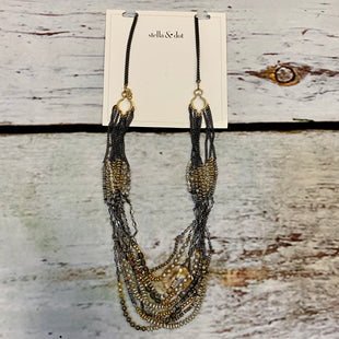 Primary Photo - BRAND: STELLA AND DOT STYLE: NECKLACE COLOR: GOLD SILVER OTHER INFO: LAYERED CHAIN SKU: 217-217104-39405