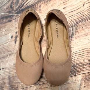 Primary Photo - BRAND: LUCKY BRAND STYLE: SHOES FLATS COLOR: BROWN SIZE: 9 SKU: 217-217182-6293