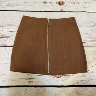 Primary Photo - BRAND: CHLOE AND KATIESTYLE: SKIRT COLOR: BROWN SIZE: M SKU: 217-217196-711