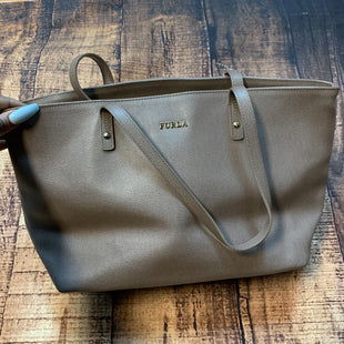 Primary Photo - BRAND: FURLA STYLE: HANDBAG DESIGNER COLOR: TAUPE SIZE: MEDIUM SKU: 217-217182-4980