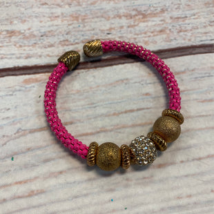 Primary Photo - BRAND:    CLOTHES MENTOR STYLE: BRACELET COLOR: PINK OTHER INFO: GOLD BEADS SKU: 217-217182-8698