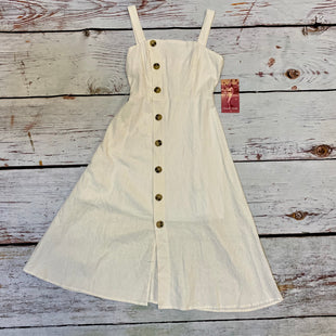Primary Photo - BRAND: EMERALD STYLE: DRESS LONG SLEEVELESS COLOR: OFF WHITE SIZE: 3 OTHER INFO: BUTTONS/NWT SKU: 217-217196-361