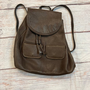 Primary Photo - BRAND: GIANI BERNINI STYLE: BACKPACK COLOR: BROWN SIZE: MEDIUM SKU: 217-217153-8099