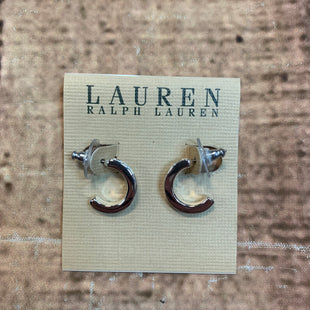 Primary Photo - BRAND: POLO RALPH LAUREN STYLE: EARRINGS COLOR: SILVER SKU: 217-217182-5628