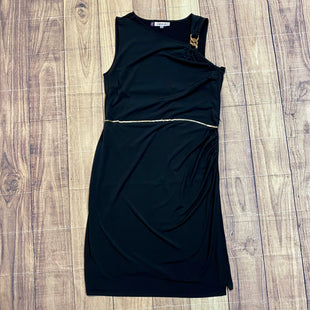 Primary Photo - BRAND: JENNIFER LOPEZ STYLE: DRESS LONG SLEEVELESS COLOR: BLACK SIZE: XL OTHER INFO: GOLD CHAINS SKU: 217-217182-2533