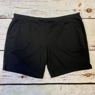 Primary Photo - BRAND: ATHLETIC WORKS STYLE: ATHLETIC SHORTS COLOR: BLACK SIZE: 3X SKU: 217-217182-8879