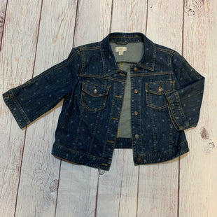 Primary Photo - BRAND: LOFT STYLE: JACKET OUTDOOR COLOR: DENIM SIZE: L OTHER INFO: STARS JEAN JACKET SKU: 217-217167-1093
