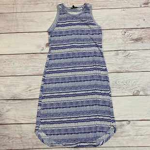 Primary Photo - BRAND: BANANA REPUBLIC STYLE: DRESS SHORT SLEEVELESS COLOR: BLUE WHITE SIZE: S SKU: 217-217182-8324