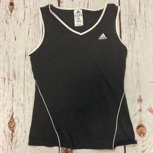 Primary Photo - BRAND: ADIDAS STYLE: ATHLETIC TANK TOP COLOR: BLACK WHITE SIZE: M SKU: 217-217104-39705