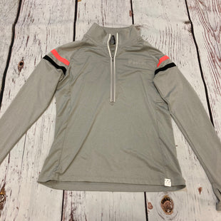 Primary Photo - BRAND: PINK STYLE: ATHLETIC JACKET COLOR: GREY SIZE: M OTHER INFO: PINK BLACK STRIPES SKU: 217-217167-1922