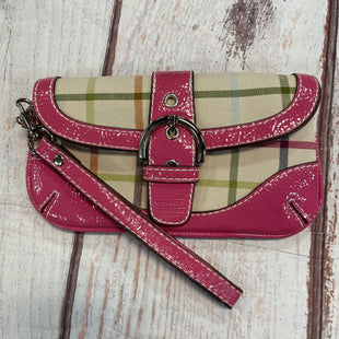 Primary Photo - BRAND: COACH STYLE: WRISTLET COLOR: PLAID OTHER INFO: STAIN SKU: 217-217182-4311