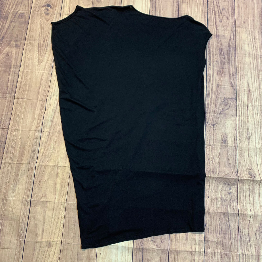 Photo #1 - BRAND: EILEEN FISHER <BR>STYLE: DRESS LONG SLEEVELESS <BR>COLOR: BLACK <BR>SIZE: XS <BR>SKU: 217-217144-9106