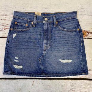 Primary Photo - BRAND: LEVIS STYLE: SKIRT COLOR: DENIM SIZE: 28 OTHER INFO: NWT SKU: 217-217196-694