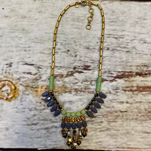 Primary Photo - BRAND: STELLA AND DOT STYLE: NECKLACE COLOR: BLUE GREEN OTHER INFO: GOLD/BROWN SKU: 217-217104-39420