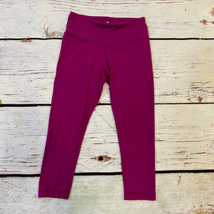 Primary Photo - BRAND: 90 DEGREES BY REFLEX STYLE: ATHLETIC CAPRIS COLOR: FUSCHIA SIZE: XS SKU: 217-217104-37986