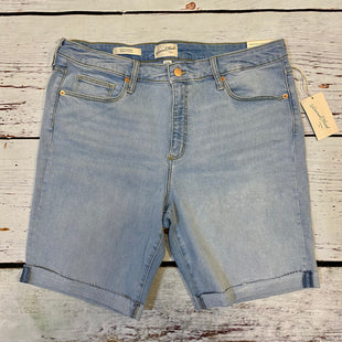 Primary Photo - BRAND: UNIVERSAL THREAD STYLE: SHORTS COLOR: DENIM SIZE: 16 OTHER INFO: NEW! HIGH RISE BERMUDA SKU: 217-217104-39726
