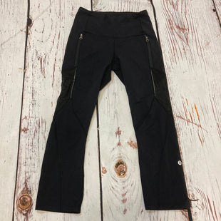 Primary Photo - BRAND: LULULEMON STYLE: ATHLETIC CAPRIS COLOR: BLACK SIZE: S SKU: 217-217196-824
