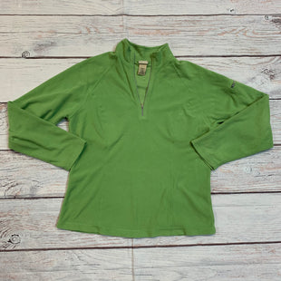 Primary Photo - BRAND: LL BEAN STYLE: FLEECE COLOR: GREEN SIZE: S SKU: 217-217152-4481