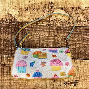 Primary Photo - BRAND: DOONEY AND BOURKE STYLE: HANDBAG DESIGNER COLOR: MULTI SIZE: SMALL OTHER INFO: CUPCAKES SKU: 217-217182-2899