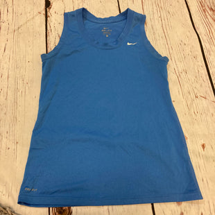 Primary Photo - BRAND: NIKE STYLE: ATHLETIC TANK TOP COLOR: BLUE SIZE: M SKU: 217-217167-907