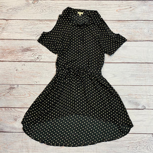 Primary Photo - BRAND: LILY WHITE STYLE: DRESS SHORT SHORT SLEEVE COLOR: POLKADOT SIZE: M OTHER INFO: BLACK/TAN SKU: 217-217114-22662