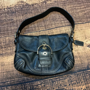 Primary Photo - BRAND: COACH STYLE: HANDBAG COLOR: BLACK SIZE: SMALL SKU: 217-217182-4128